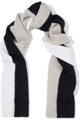 Rag & Bone Color-Block Wool-Blend Scarf