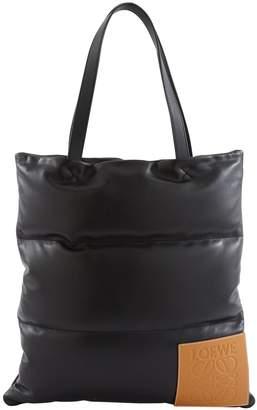 Puffy vertical tote bag