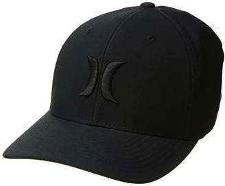 Hurley Men's Dri-Fit One and Only Curved Bill Flexfit Cap Black