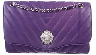 Chanel Chevron Leo Lion Medium Flap Bag