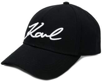 Karl Lagerfeld Paris signature cap