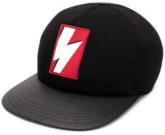 Neil Barrett pop art thunderbolt hat