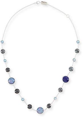 "Ippolita Lollitini Sterling Silver Necklace in Eclipse, 16"""