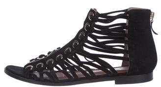 Givenchy Suede Cage= Sandals