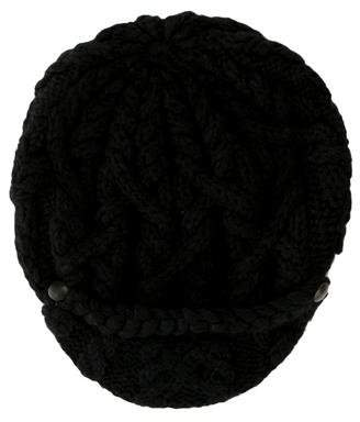 Eugenia Kim Black Knit Hat