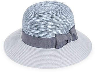 HBC PARKHURST Colourblock Panama Hat