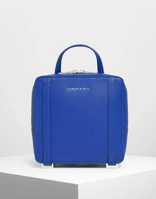 Charles & Keith Square Backpack