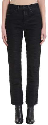 Off-White Tully Straight Leg Black Jeans