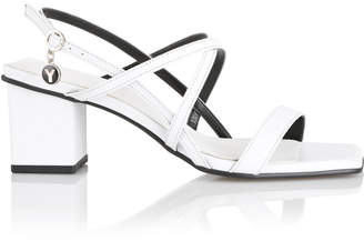 Yuul Yie Two-Tone Leather Sandals