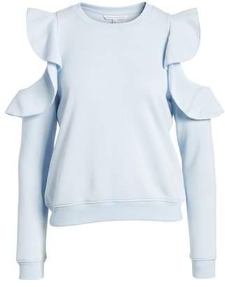 Rebecca Minkoff Gracie Cold Shoulder Sweatshirt
