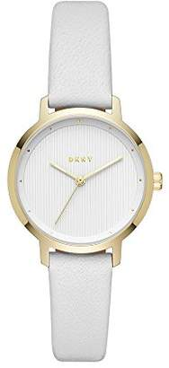 DKNY Women's The The Modernist Stainless Steel Quartz Watch with Leather Strap