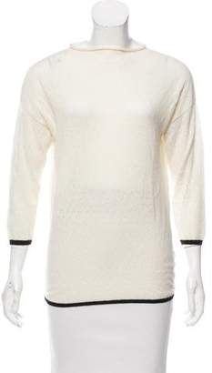 Band Of Outsiders Open Knit Lightweight Sweater