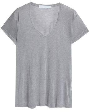 Kain Label Mélange Modal And Silk-Blend T-Shirt