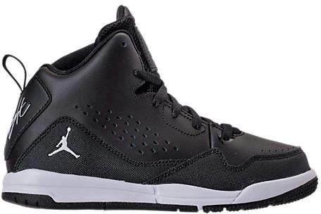 Boys' Preschool Jordan Flight SC-3 Basketball Shoes, Black