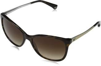 Emporio Armani EA4025 Sunglasses-502613 Dark Havana ( Lens)-mm