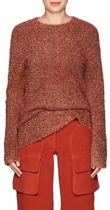 Sies Marjan Women's Courtney Metallic Knit Sweater - Rust