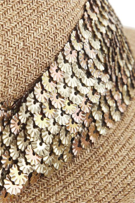 Eugenia Kim Max toyo and cotton-blend trilby