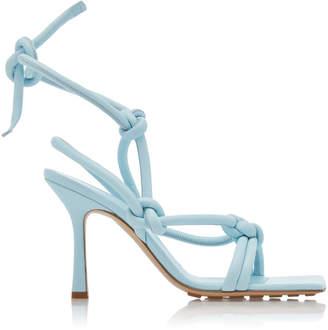 Bottega Veneta Dream Knotted Leather Sandals Size: 36