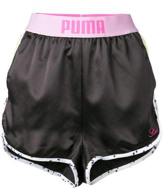 Puma banded mesh side runner shorts