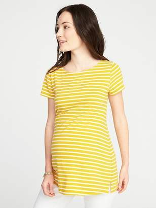 Old Navy Maternity Relaxed Boat-Neck Top