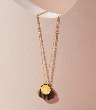 Lou & Grey Soko Horn Paddle Pendant Necklace