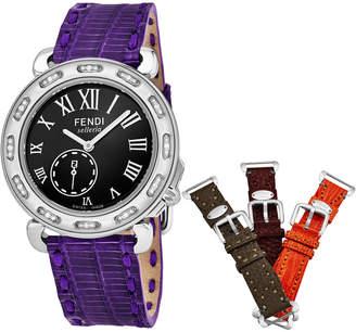 Fendi Women's Selleria Diamond Watch