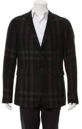 Burberry Nova Check Wool Jacket