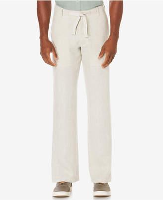 Perry Ellis Men's Linen Drawstring Pants $79.50 thestylecure.com