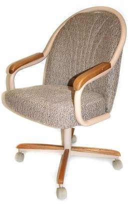 Red Barrel Studio Gentry Mid-Back Dining Chair with Arms