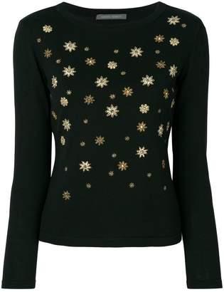 Alberta Ferretti embellished jumper