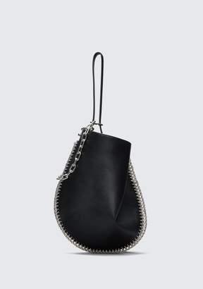 Alexander Wang ROXY HOBO IN BLACK WITH BOX CHAIN Shoulder Bag
