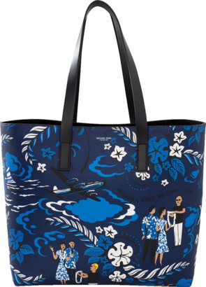 Michael Kors Welcome Print Tote
