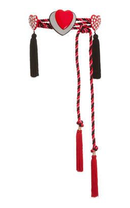 Philosophy di Lorenzo Serafini Embellished Cord Belt