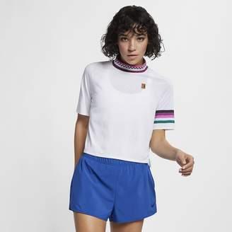 Nike NikeCourt Breathe Slam Women's Short-Sleeve Top