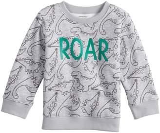 Baby Boy Jumping Beans Print Pullover Softest Fleece Top