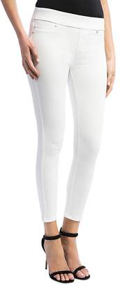 Liverpool Sienna Pull-On Legging Jeans in Bright White