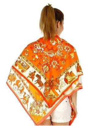 Hermes Anytime Scarf SILK SQUARE IN STYLE OF SCARF SILK SHAWL SILK WRAP WOMENS FASHION SCARF