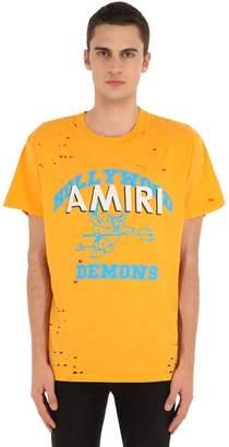 Amiri Printed Cotton Jersey T-Shirt