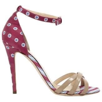 Philosophy di Alberta Ferretti Patent Leather Sandals
