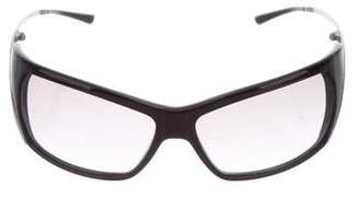 Max Mara Rectangle Tinted Sunglasses