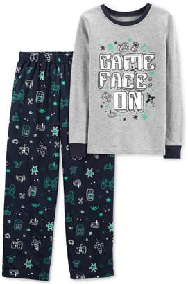 Carter's Little & Big Boys 2-Pc. Game Face Pajama Set