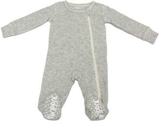 Juddlies Baby's Fleck Asymmetrical Zip-Front Sleeper