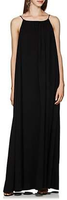 The Row Women's Dresia Cotton Voluminous Maxi Dress - Black