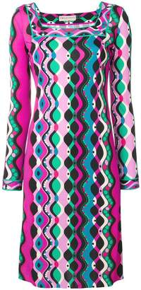 Emilio Pucci abstract print short dress