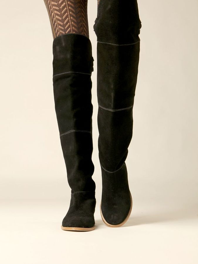 Free People Joust Over The Knee Boot