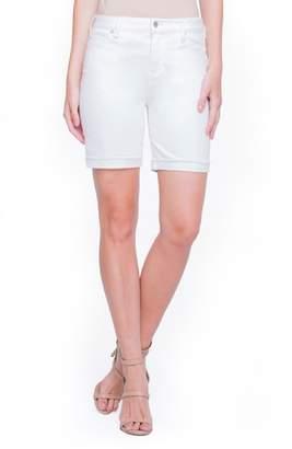 Liverpool Jeans Company Casey White Denim Shorts