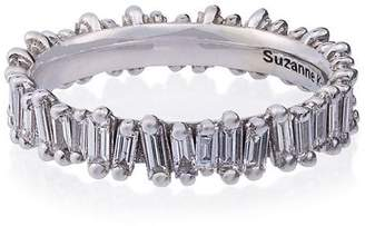 Suzanne Kalan 18K White Gold and diamond Eternity Band