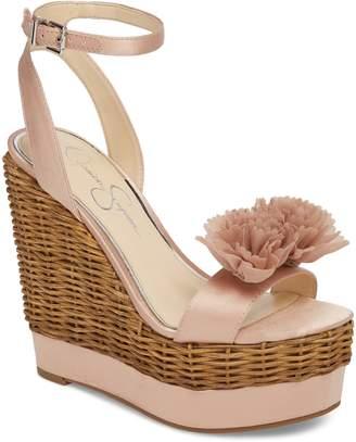 Jessica Simpson Pressa Platform Wedge Sandal