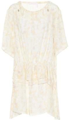 See by Chloe Floral-printed crepe dress