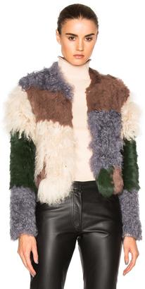 NICHOLAS Mixed Fur Jacket $695 thestylecure.com